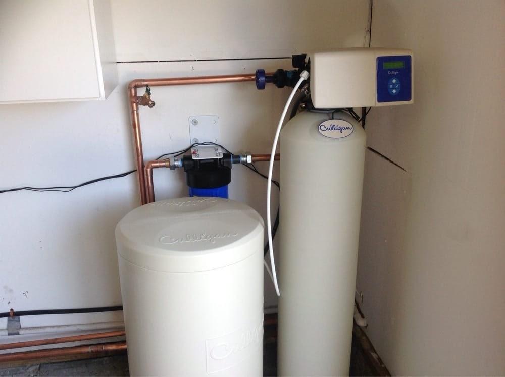 Culligan High-Efficiency 1-Inch Water Softener
